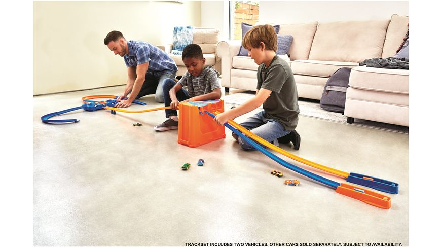 Mattel Hot Wheels Track Builder Mega Stunt Box