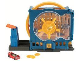 Mattel Hot Wheels Super Bankeinbruch Spielset