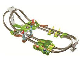 Hot Wheels Mario Kart Mario Rundkurs Trackset Autorennbahn inkl 2 Spielzeugautos