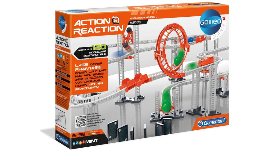 Clementoni Galileo Action Reaction Maxi Set