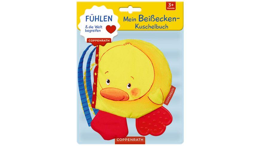 Coppenrath Verlag Mein Beissecken Kuschelbuch Kleine Ente Fuehlen begreifen Fuehlen und die Welt begreifen
