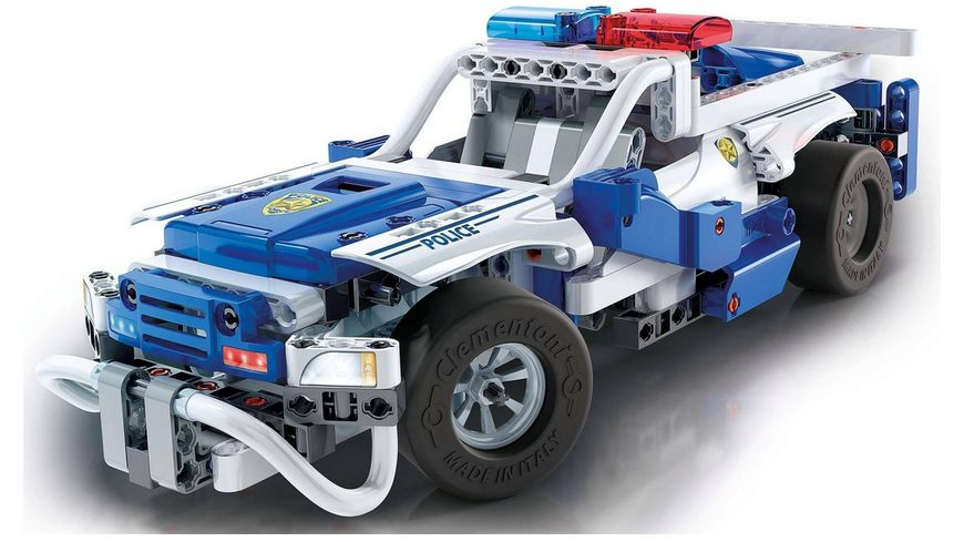 Clementoni Galileo Construction Challenge Polizeifahrzeuge