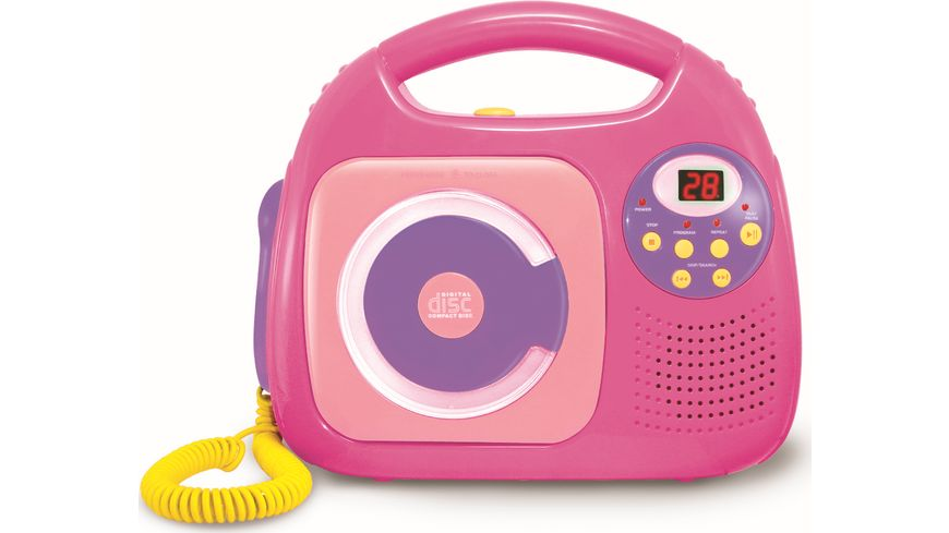 Mueller Toy Place CD Spieler pink
