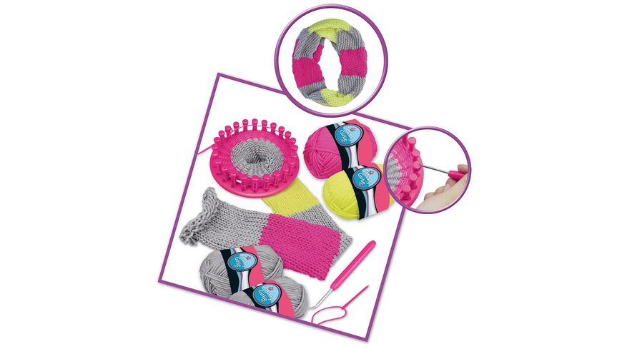 Beluga Knitting Fun Ring Stricke ganz einfach