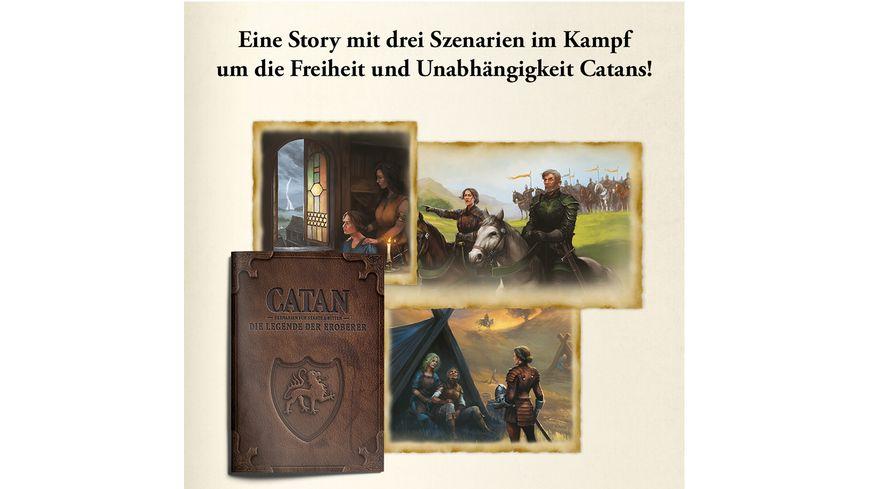 KOSMOS Catan Die Legende der Eroberer Szenarien fuer Staedte Ritter