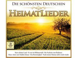 Die schoensten deutschen Heimatlieder