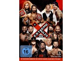 Extreme Rules 2019 2 DVDs
