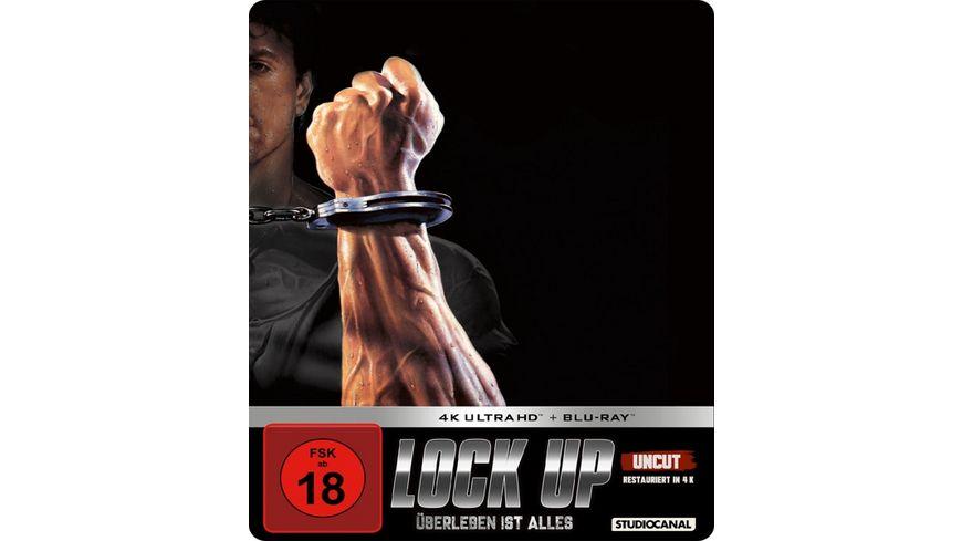 Lock up Ueberleben ist alles Limited SteelBook Edition Uncut 4K Ultra HD Blu ray 2D