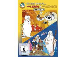Es war einmal Das Leben Der Mensch Folge 1 4 2 DVDs
