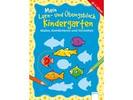 Malen Kombinieren und Verstehen Mein Lern und Uebungsblock Kindergarten