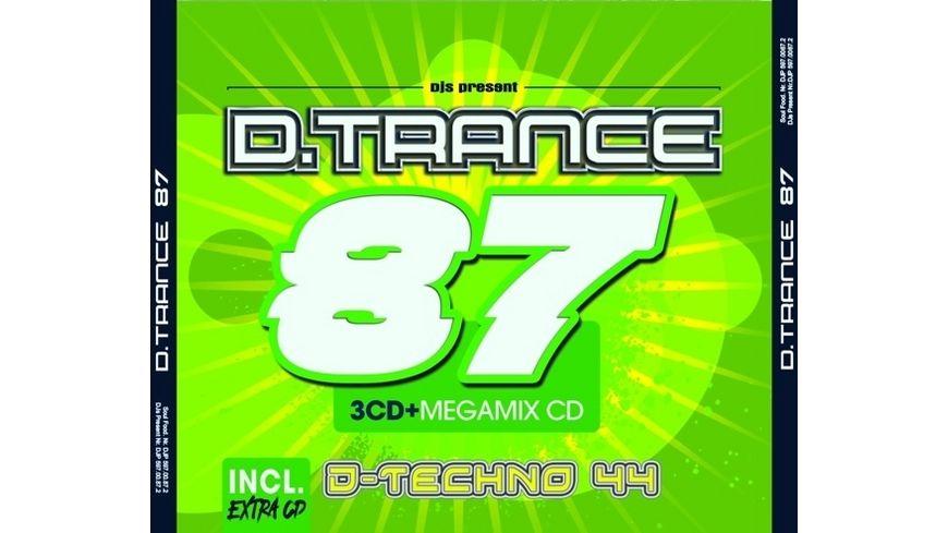 D Trance Vol 87 incl D Techno 44