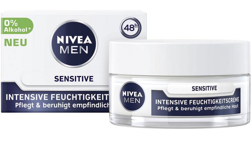 NIVEA MEN Sensitive Intensive Feuchtigkeitscreme