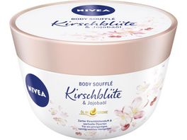NIVEA Body Souffle Kirschbluete Jojobaoel