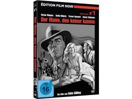 Der Mann den keiner kannte Film Noir Edition Nr 1 Limited Mediabook inkl Booklet