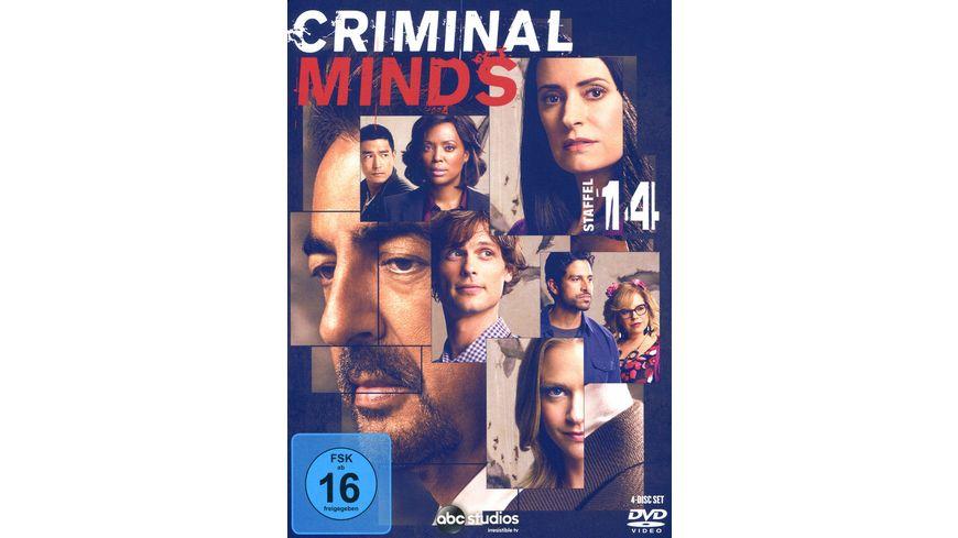 Criminal Minds Die komplette vierzehnte Staffel 4 DVDs