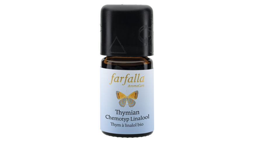 Farfalla Thymian Linalool bio Wildsammlung