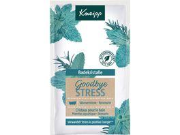 Kneipp Badekristalle Goodbye Stress