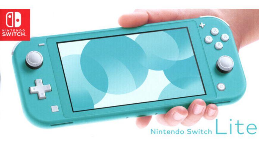 Nintendo Switch Lite Konsole Tuerkis