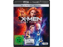 X Men Dark Phoenix 4K Ultra HD Blu ray 2D