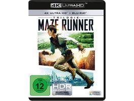 Maze Runner 1 3 3 4K Ultra HD 3 Blu ray 2D