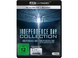 Independence Day 1 2 2 4K Ultra HD 2 Blu ray 2D