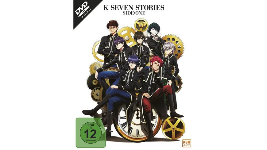 K Seven Stories Side One Movie 1 3 3 DVDs