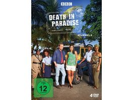 Death in Paradise Staffel 8 4 DVDs