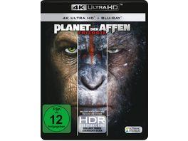 Planet der Affen 1 3 3 4K Ultra HD 3 Blu rays 2D