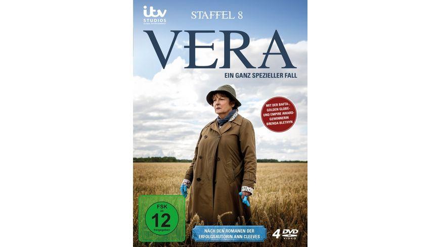 Vera Ein ganz spezieller Fall Staffel 8 4 DVDs