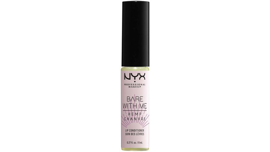 NYX PROFESSIONAL MAKEUP Bare With Me Cannabis Oil Lip Conditioner Sheer Leaf