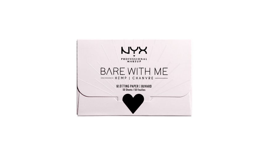 NYX PROFESSIONAL MAKEUP Bare With Me Cannabis Oil Blotting Paper
