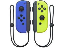 Nintendo Switch Controller Joy Con Blau Neon