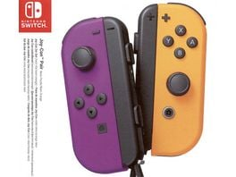 Nintendo Switch Controller Joy Con Neon Lila