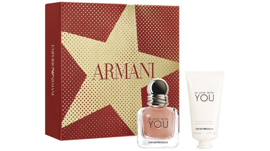 EMPORIO ARMANI In Love With You Eau de Parfum Geschenkset