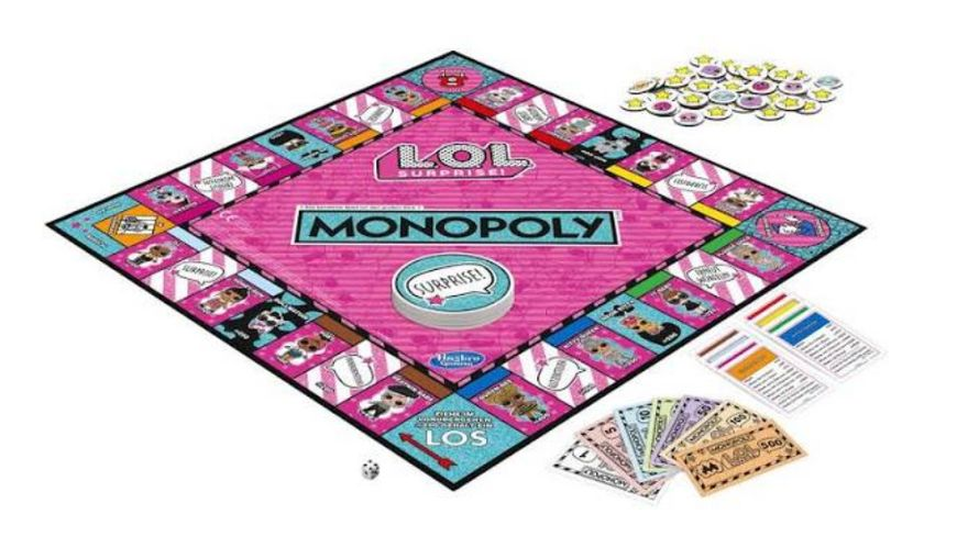 Hasbro L O L SURPRISE Monopoly LOL