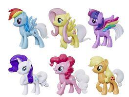 Hasbro My Little Pony Farbenspiel Ponys Sammelpack aus 6 Ponyfiguren