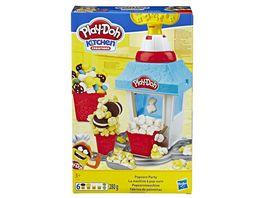Hasbro Play Doh Popcornmaschine mit 6 Dosen Play Doh