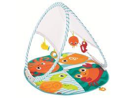 Fisher Price Faltbare Meeres Spieldecke Babydecke Spielmatte Krabbeldecke