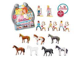 CRAZE Bibi Tina Sammelfiguren 1 von 12 Mini Spielsets