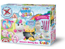 CRAZE Cloud Slime Money Box Unicorn