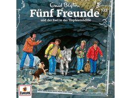 133 Fuenf Freunde und der Esel in der Tropfsteinhoeh