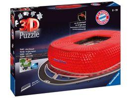 Ravensburger Puzzle 3D Puzzle Allianz Arena bei Nacht