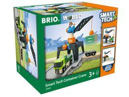BRIO Bahn Smart Grosse Containerverladestation