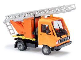 Busch 42223 Multicar mit Drehleiter 1 87