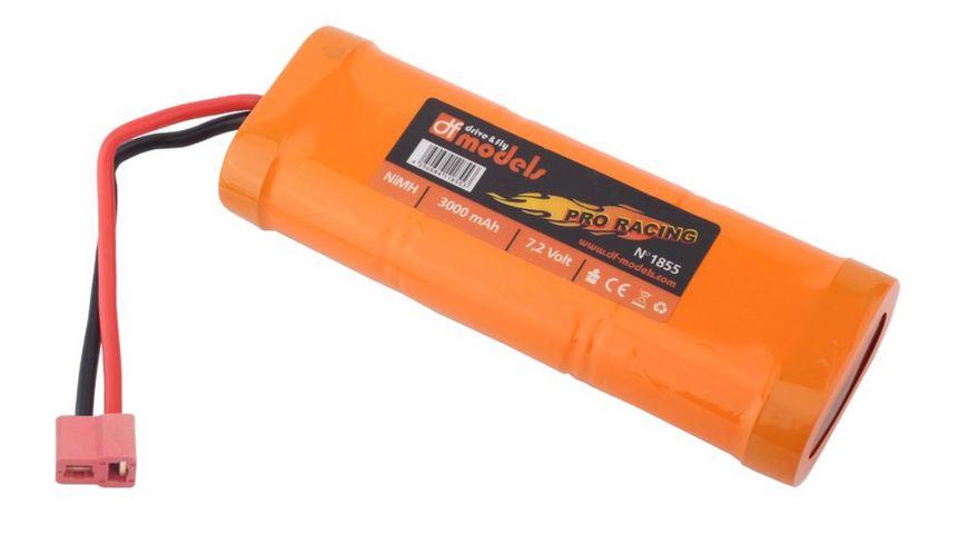 drive & fly - Pro Racing Pack 7,2 Volt - 3000 mAh NiMH - T-Plug