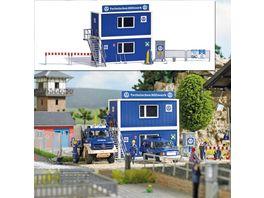 BUSCH 1029 H0 THW Container Set H0