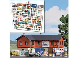 BUSCH 1130 H0 Werbeplakat DDR