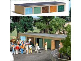 BUSCH 1648 H0 Garagenkomplex H0