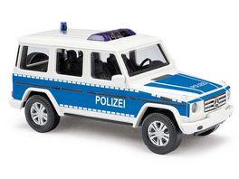 Busch 51461 MB G Klasse 08 Polizei Brandenburg 1 87
