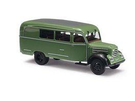 BUSCH 51850 Robur Garant K 30 Kombiwagen Gruen 1 87